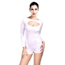Womens Sexy Body-Con Romper Long Sleeve Shorts  Fits Party - $12.00