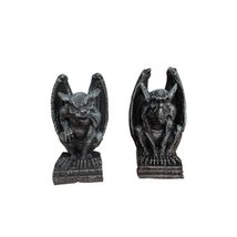 2.5 Inch Miniature Evil Gargoyles Resin Statue Figurines, Set of Two - €8,03 EUR