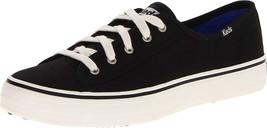 Keds Women's Double Up Core Fashion Sneaker,Black,9.5 M US - $64.18