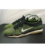 Nike Air Zoom Fearless Flyknit Black Volt Swoosh 850426 002 Womens Size 7 - $49.50