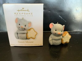 Hallmark Keepsake Ornament Sweet Mouse Miniature 2012 - $5.00