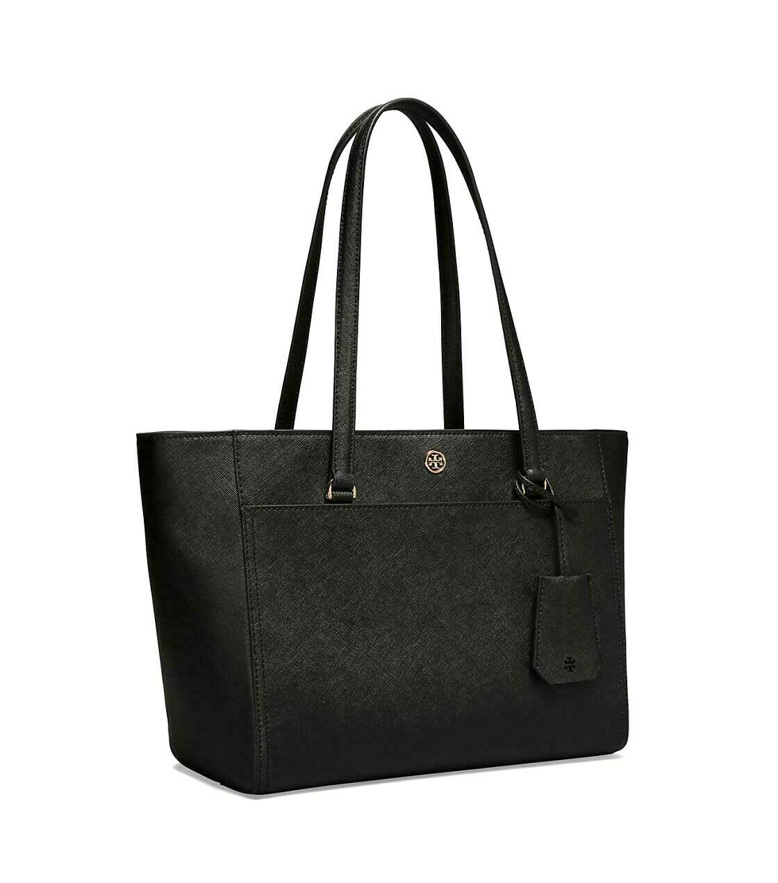Tory Burch Robinson Small 3 Chamber Saffiano Leather Shoulder Pocket Tote New image 2