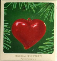 1983 - New in Box - Hallmark Christmas Keepsake Ornament - Heart - $14.84