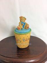Cherished Teddies Covered Box Birthday Age 7  2001 NIB - $29.65