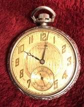 Vintage 15 Jewels Waltham Gold Filled Pocket Watch - $99.95