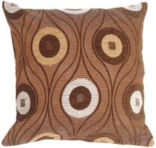 Pillow Decor - Pods in Chocolate Throw Pillow - £22.94 GBP