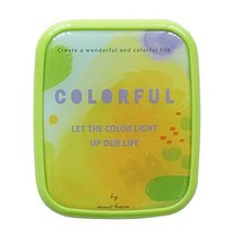 Colorful Lovely Stylish Contact Lenses Case Storage Holder Green - $14.04