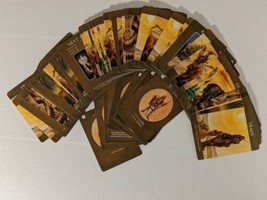 Age of Mythology Board Game Brown Egypt Action Battle Card Set Replaceme... - $9.49