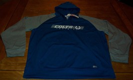 INDIANAPOLIS COLTS NFL FOOTBALL HOODIE HOODED SWEATSHIRT XL NEW w/ TAG - $39.60