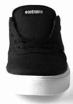 Etnies Noir/Blanc/Noir Rct à Lacet 10 C US Bébé Skate Chaussures Baskets Nib image 2
