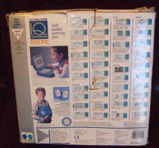 1980s Vintage Team Concepts ELECTRONIC TALKING IQ SUPER COMPUTER with 2 carts image 2
