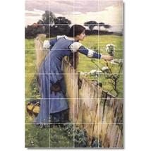 John Waterhouse Garden Painting Tile Murals BZ09433. Kitchen Backsplash ... - $240.00+