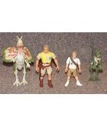 Vintage 1993 Kenner Jurassic Park Lot of Figures and Dinosaurs - $51.99