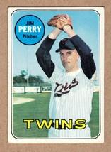 1969 Topps #146 Jim Perry Minnesota Twins Near Mint cond. - $5.31