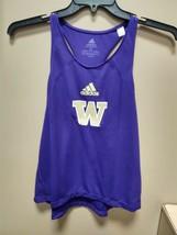 Adidas Washington Huskies Training Tank Top Womens Small Purple GL5557 - $19.00