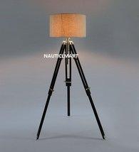 NAUTICALMART VINTAGE CLASSIC WOODEN TRIPOD FLOOR LAMP - $155.82
