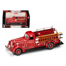 1939 American LaFrance B-550RC Fire Engine Red 1/43 Diecast Car Model by... - $38.25