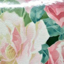 "Antique K&G Keller Guerin Luneville Faience Rose Pattern 12.5"" Plate Platter image 4"