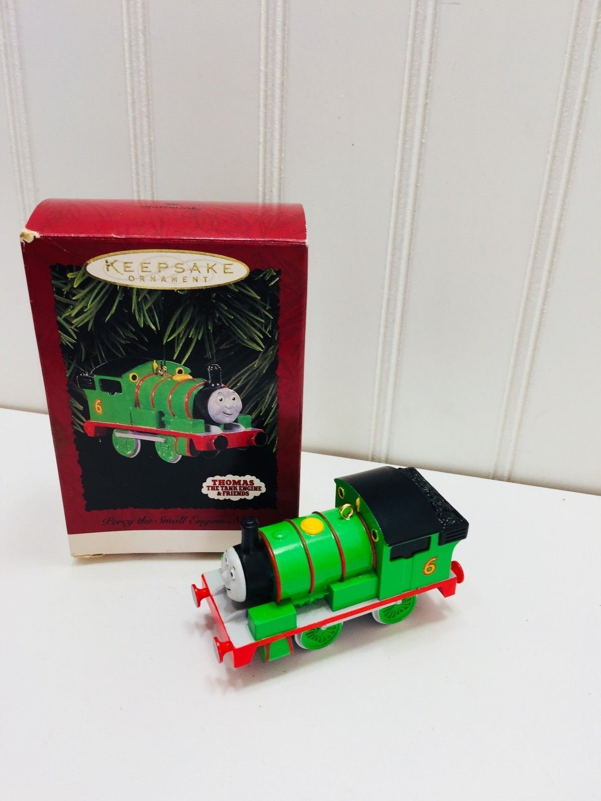 Primary image for 1996 HALLMARK ORNAMENT PERCY THE SMALL ENGINE NO6 23160
