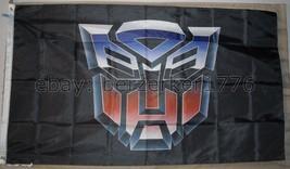 AutoBots Transformers 3'x5' Flag Banner Black Optimus Prime USA Seller S... - $25.00
