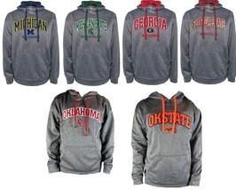 NCAA Men's Dominate 2 Hoodie Premium Hooded Performance Sweatshirt Licensed NEW