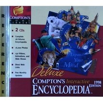 Comptons Interactive Encyclopedia 98 L/Ww95/Us [Jan 01, 1998] Deluxe \Lab - $49.49