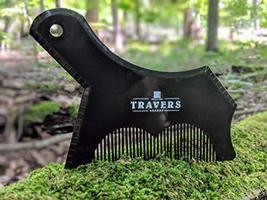 Travers Brands Beard Shaping Tool with Built-in Beard & Mustache Comb for Beard  image 4