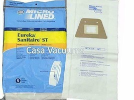 40 Eureka Sanitaire Type ST Vacuum Bags, Express, Home Cleaning System 63213, 63 - $66.96