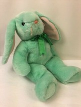 Ty Beanie Buddies Hippity Rabbit Plush Pastel Green Easter Bunny Stuffed... - $10.09