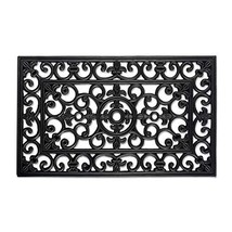 "Heavy Duty Natural Rubber Outdoor Doormat, 18x30"", Entry Way Shoes Scrap... - $20.32"