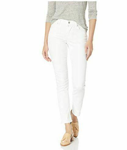 Levi's Women's White Classic Mid Rise Skinny Fit Denim Jeans Pants Size 28W 28L