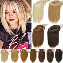 NEW 11'' Lady Hair Topper Real One Piece Full Head Clip In Hair Extension