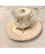 Elizabethan Fine China Coffee Cup And Saucer Eastern Star - $14.85