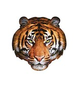 Madd Capp Puzzles - I AM Tiger - 550 pieces - Animal Shapes Jigsaw Puzzle - $28.64