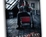 Sweeney Todd The Demon Barber of Fleet Street Art Decor Framed Canvas Print