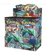 Sun and Moon Celestial Storm Booster Box Pokemon TCG SM7 Factory Sealed ... - $123.95