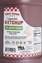 True Made Foods Ketchup No Added Sugar 150 Oz Jug