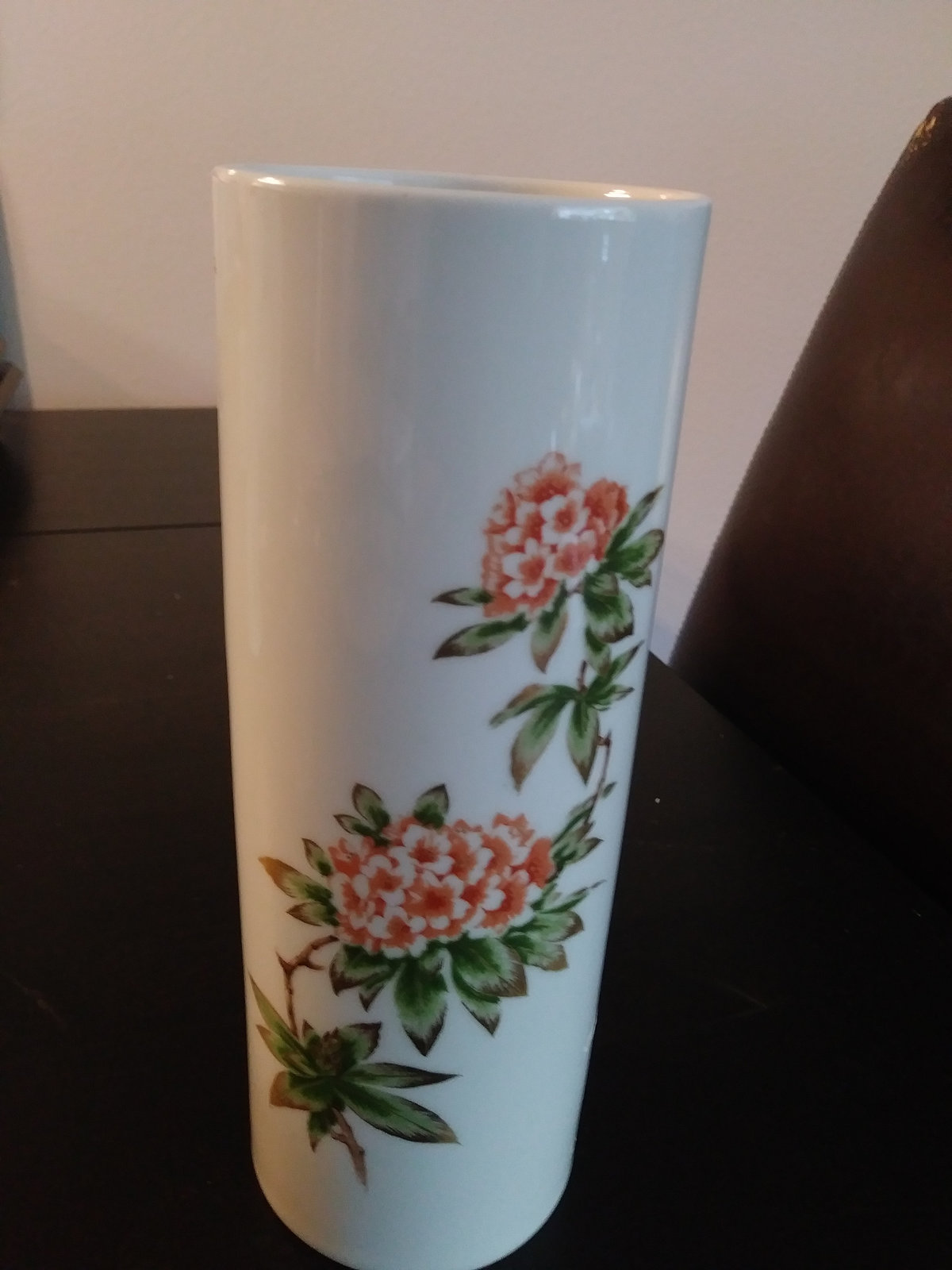Franklin Porcelain Vase 1977 Limited Edition Made In Bavaria