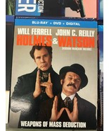 HOLMES & WATSON BLU RAY + DVD + DIGITAL- BRAND NEW & SEALED- FAST SHIPPING! - $10.64
