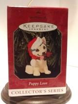Hallmark Keepsake Ornament - Puppy Love, #9 German Shepherd - 1999 - QX6... - $8.95