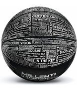 Millenti Basketball Outdoor Indoor Ball - with Engraved Basketball Slang... - $25.46