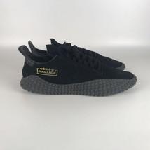 Adidas Original Kamanda 01 Schuhe Herren Größe 14 Schwarz Carbon BD7903 - $73.25