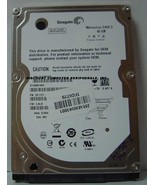 40GB 5400RPM SATA-150 2.5 INCH NOTEBOOK DRIVE SEAGATE ST940814AS Free US... - $14.95