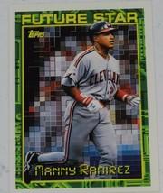 1994 TOPPS  MANNY RAMIREZ FUTURE STAR #216 - $0.99