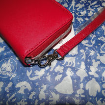 Disney Parks Minnie Mouse Bow Lg Wallet/ Wristlet NWT Pink image 4