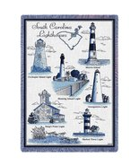Lighthouses of South Carolina Blanket - $48.95