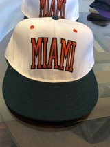 NEW Miami Hurricanes Baseball NCAA Football Vintage Pro-Line Apparel Hat 7 3/8 - $14.84