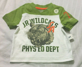 Old Navy Tee Shirt 6-12 Months Jr Wild Cats LA White Green Baby - $9.98