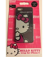New Sealed Hello Kitty wrap case for iPhone 5 Protects from scratches an... - $4.99
