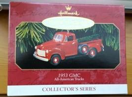 All American Trucks 1953 GMC Truck 1997 Hallmark Keepsake Ornament NIB - $8.90